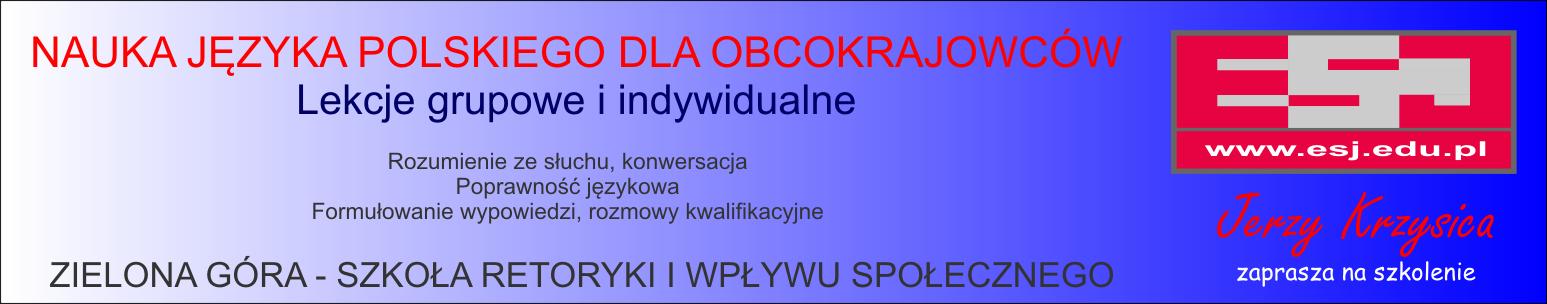 Nauka języka polskiego